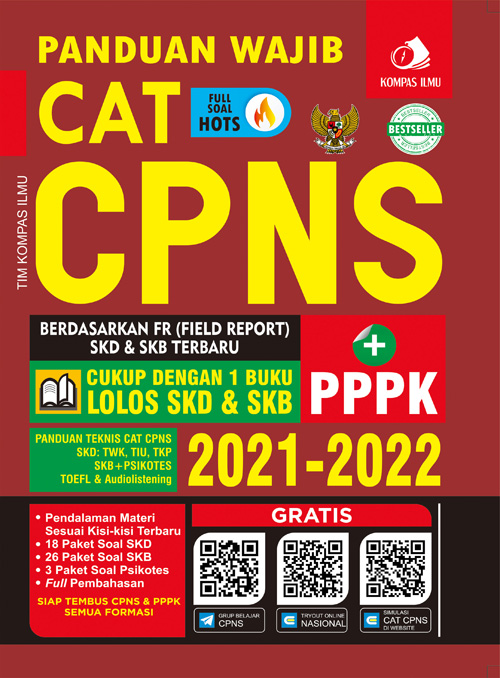 Panduan Wajib CAT CPNS 2021-2022 Kompas Ilmu