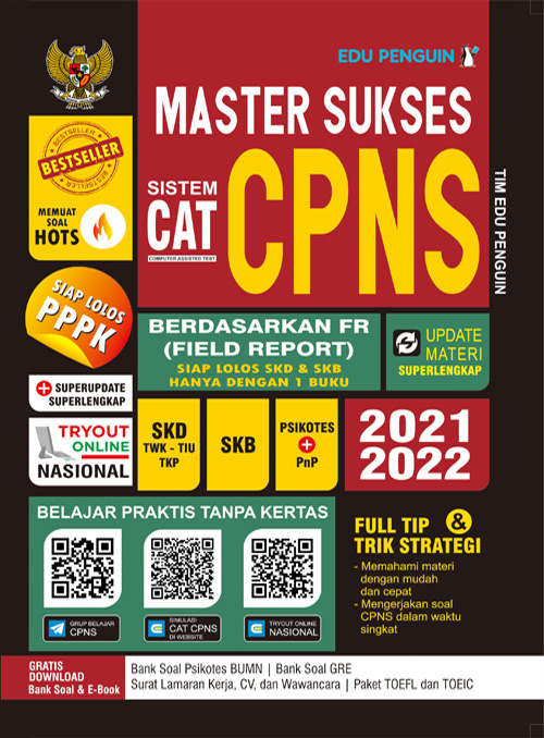 Master Sukses CAT CPNS 2021-2022 Edu Penguin