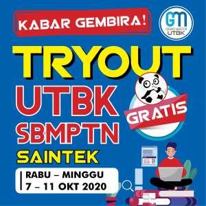 Tryout Online UTBK SBMPTN SAINTEK