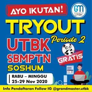 Tryout Online UTBK SBMPTN SOSHUM Periode 2
