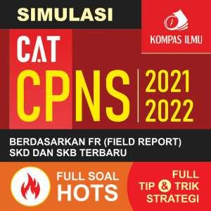 Simulasi CAT CPNS Buku Panduan Wajib CAT CPNS 2021-2022