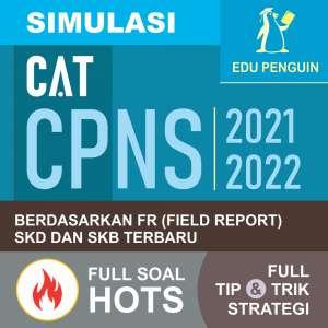 Simulasi CAT CPNS Buku Master Sukses CAT CPNS 2021-2022