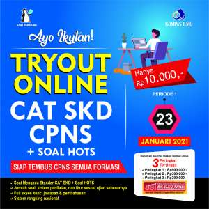 TRYOUT CAT SKD CPNS 2021