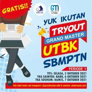 Tryout TKA Saintek Grand Master UTBK SBMPTN