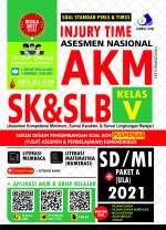 Injury Time Asesmen Nasional AKM SK & SLB SD/MI + Paket A (Ula) 2021